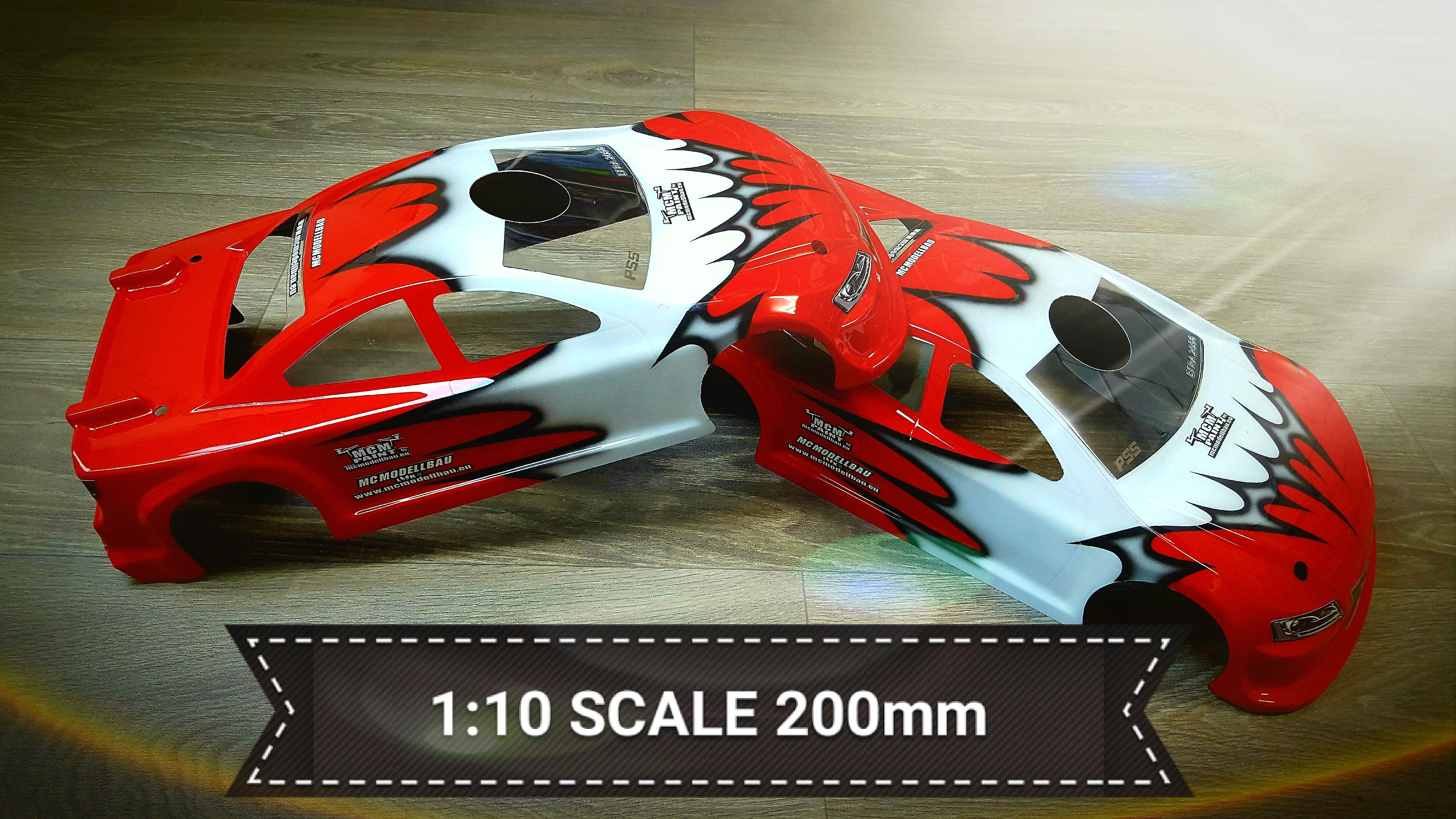 1:10 Scale 200mm
